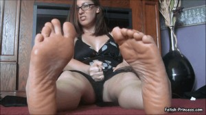 Jerk and Cum to My Sexy Feet in Doggystyle! Foot Fetish JOI and Cum Countdown Video