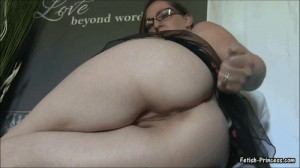 Stroke and Cum to My Big Fat 40 Inch Ass JOI Video