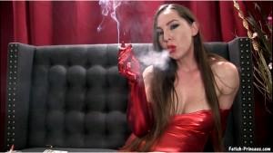 Popper Jerk Junky for Smoking Red Lips